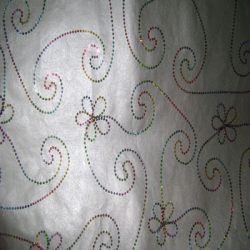 Handmade embroidery paper